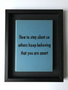 quote Johan Deckmann - how to stay silent so others keep believing that you are smart